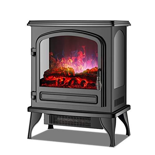Vertikal Elektro-Kamin Kit, einstellbare Temperaturregelung, Realistische 3D-Flammeneffekt, Überhitzungsschutz