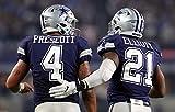 Avando Poster/Kunstdruck Dallas Cowboys Prescott & Elliott,