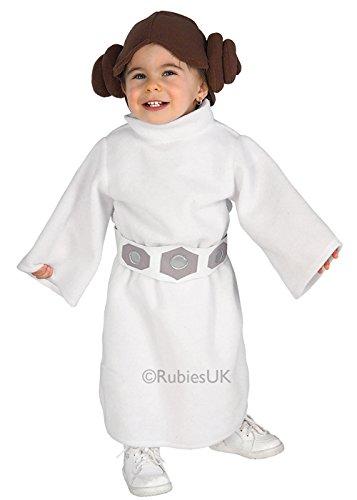 Struts Fancy Dress Les Tout-Petits Taille Costume de Princesse Leia de Star Wars Toddler (1-2 Years)