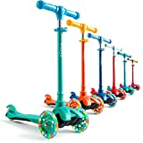 Toddler Scooter for Kids Ages 3-5 I Kids Scooter for Boys and Girls I 3 Wheel Scooter for Kids I Scooters for Toddlers Age 2 and up I 3 Wheel Scooter for Kids Ages 3-5 I Girls and Boys Scooter Teal