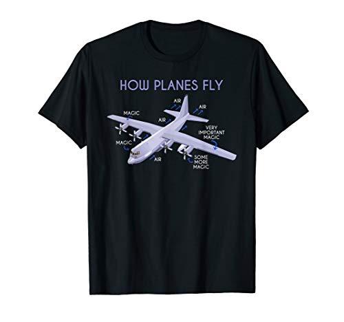 Funny Pilot Gift Aviation Airplane Pilot T-Shirt