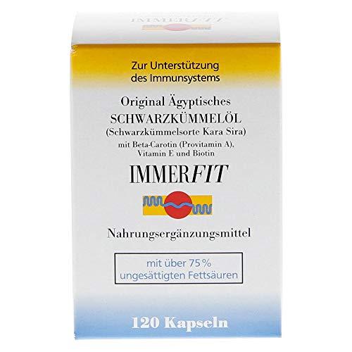 SCHWARZKUEMMELOEL IMMERFIT Kapseln 120 Stück