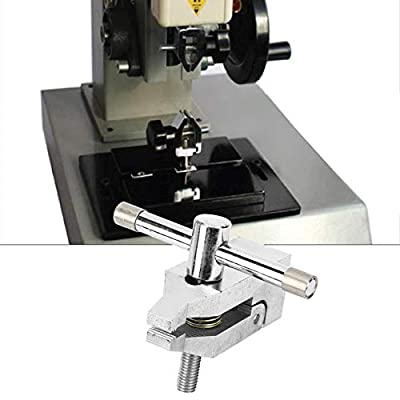 wosume Push Pull Force Tool, Thrust Meter Clamp Stainless Steel Push Pull Force Tool 500N for Tensile Tester 10mm