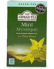 Ahmad Tea Mint Mystique Green Tea, 20 Teabags