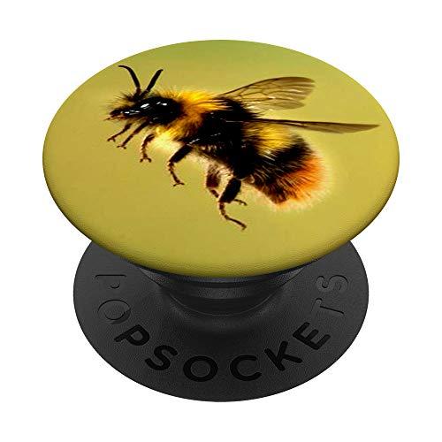Es mi cuarto día de la abeja nina cumpleaños de 4 años PopSockets PopGrip: Agarre intercambiable para Teléfonos y Tabletas