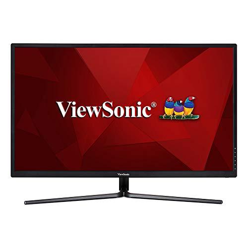 "ViewSonic VX3211-4K-mhd Moniteur VA 32"" 4K UHD 3840x2160 Pixels, 5ms, HDR10, HDMI, DP, Haut-Parleurs, Noir"