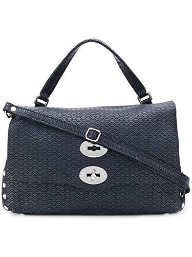 Zanellato Luxury Fashion Damen 61384835 Blau Leder Handtaschen | Jahreszeit Outlet
