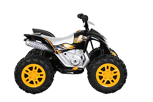 Rollplay 35541 Powersport ATV Electric Car, Black