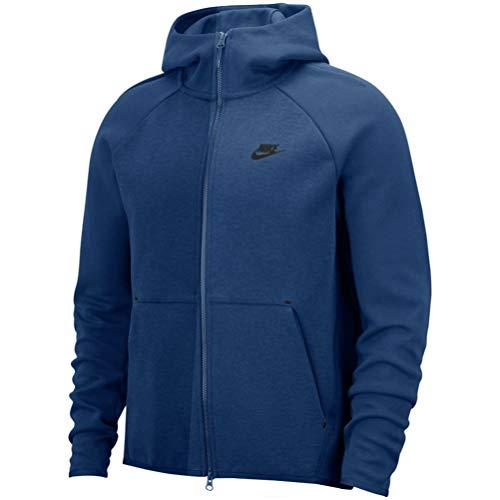 Nike Sportswear Tech Fleece Sudaderas, Hombre, Coastal Blue/Black, 4XL/T