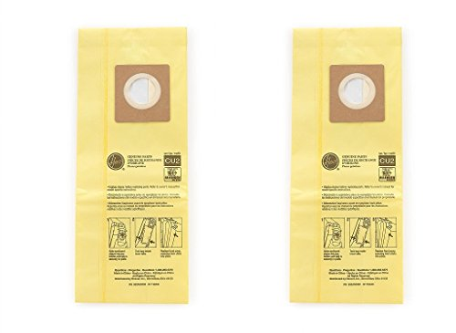 Hoover Commercial AH10243 Upright Bags for HushTone, Allergen Filtration (2 X Pack of 10)