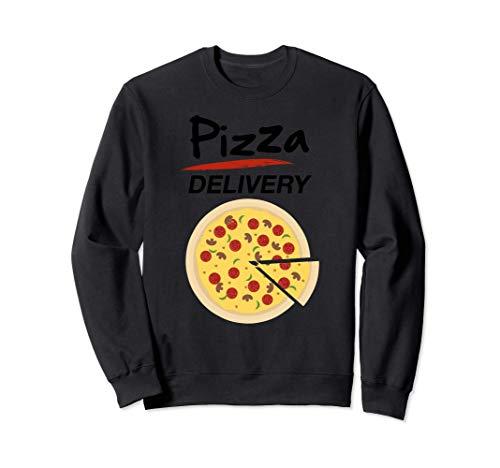 Disfraz de Repartidor Pizzas para Grupos Hombre Mujer Nios Sudadera