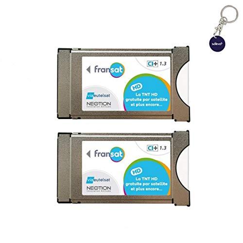 Pack de 2módulos PCMCIA Fransat Ci + Última...
