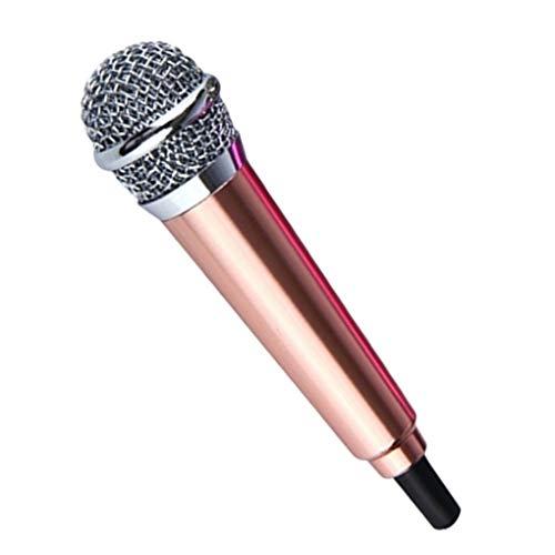 Busirde 3,5 mm estéreo Estudio portátil Mini Mic del discurso 3.5 mm estéreo de Audio Micrófono Móvil PC portátil Accesorios de Escritorio
