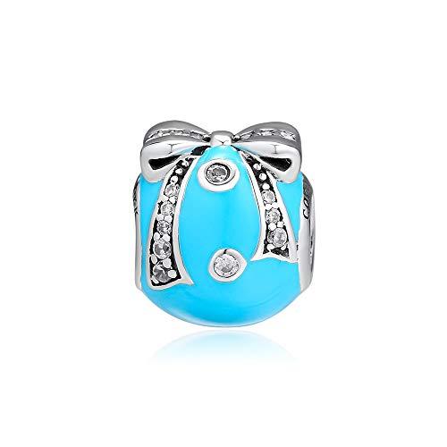 LIIHVYI Pandora Charms para Mujeres Cuentas Plata De Ley 925 Sum R Bright Orna Jewelry Compatible con Pulseras Europeos Collars