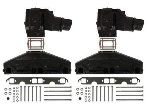 5.0L/5.7L Volvo Penta/OMC Exhaust Manifold & Elbow/Riser Kit. 3847501, 3862664