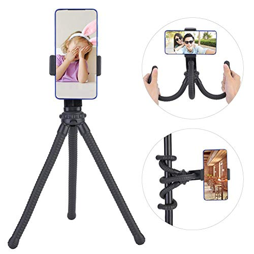 Mini mobiele telefoon statief, flexibel camerastatief, 9 inch duurzaam, flexibel, verstelbaar statief voor digitale camera actiecamera's smartphone