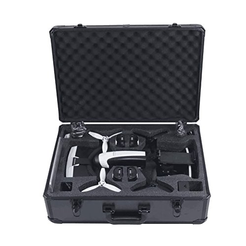 HUL Aluminum Carrying Case for Parrot Bebop 2 FPV and Skycontroller 2 with VR Goggles