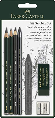 Faber-Castell 112997 - Pitt Graphite Set mit Zubehör