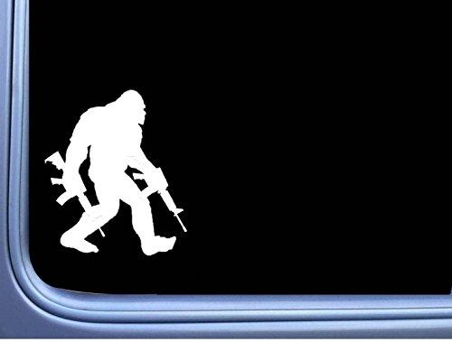 EZ-STIK Bigfoot Packing ARs Sticker M311 6 Inch Decal Sasquatch Squatch yeti Window