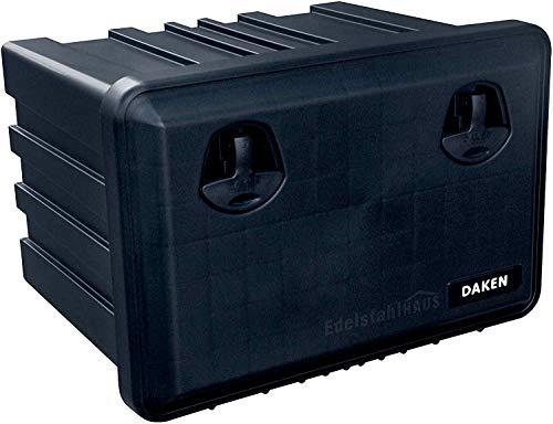 LKW Staukasten aus Kunststoff 600x415x460mm 71,5 ltr, Werkzeugkasten, Staubox, 71,5l Unterbaubox für Nutzfahrzeuge Anhänger, Staubox, Werkzeugkiste, Gurtkiste, Deichselbox, Daken Just, Daken J071