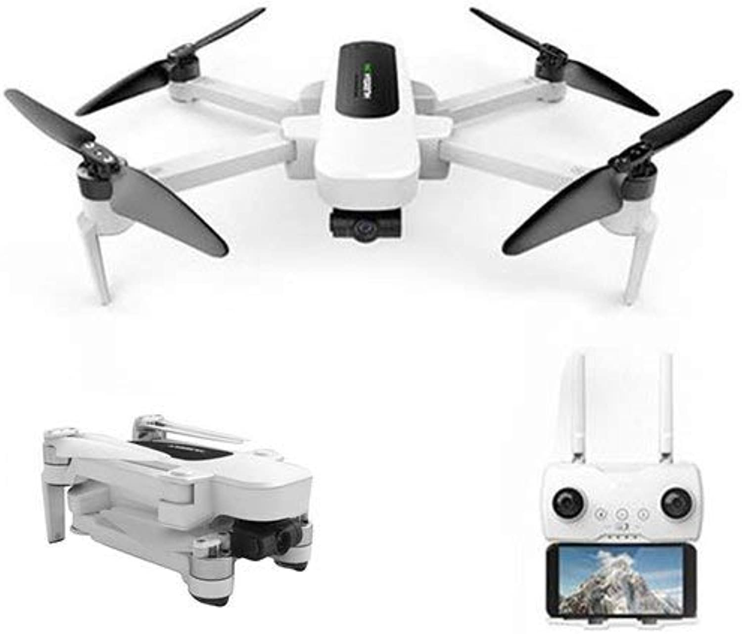 Generic Hubsan H117S Zino RC Drone GPS 5.8G 1KM FPV with 4K UHD Camera 3Axis Gimbal RC Drone Quadcopter UAV RTF RC Drones White