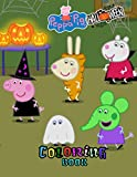 peppa pig halloween coloring book: My First Coloring Book +50 With Perfect Images For All Ages and Size (8.5 x 11)