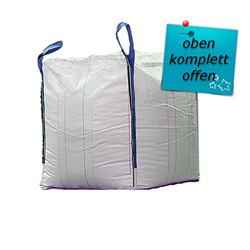3 x Hochwertiger BigBag 80x80x80cm Schüttgutbehälter Transportsack Big Bag * DIN EN ISO 21898 * Direkt beim Hersteller kaufen