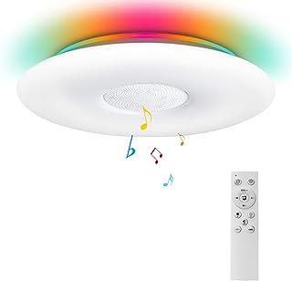LED シーリングライト 6畳 8畳 調光調色タイプ 2400LM リモコン付 Alexa対応 シーリングライト スマート 洋室 居間 寝室 天井 丸型 照明器具 簡単取付 PSE認定