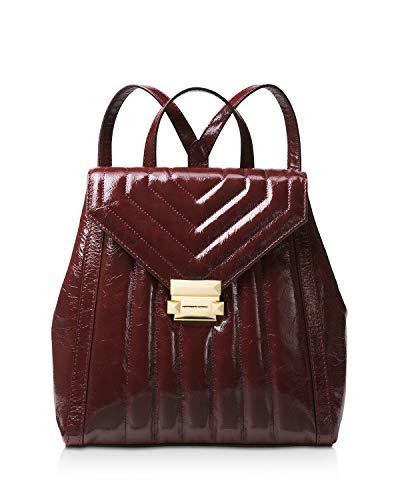 MICHAEL Michael Kors Women Whitney Medium Leather Backpack (Oxblood)