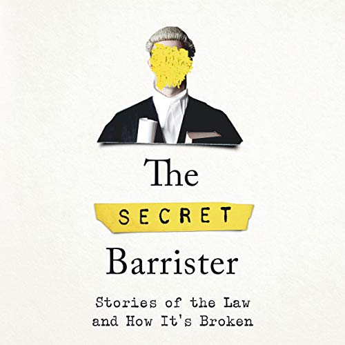 The Secret Barrister audiobook cover art