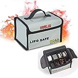 STARTRC Batterie LiPo Fireproof Safety Bag 20x11x15cm Safe Guard pour DJI Mavic Mini/Mavic 2 Pro/Mavic Air 2/Spark/Phantom 3, Phantom 4, Q500, Typhoon H, Batterie d'hélicoptère RC Car