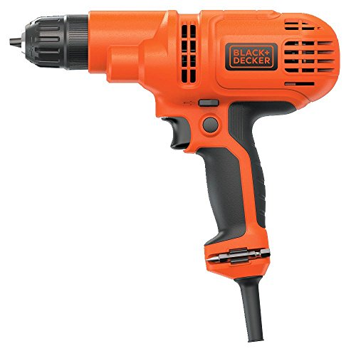 Product Image 3: BLACK+DECKER Corded Drill, 5.2-Amp, 3/8-Inch (DR260C)
