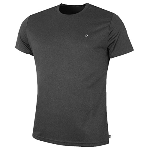 Calvin Klein Golf Herren Harlem T-Shirt - Grau Marl - M