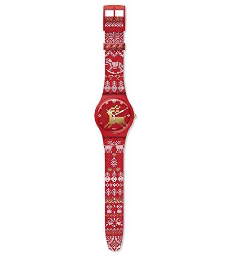 Swatch Reloj Edición Limitada SUOZ172S RED KNIT