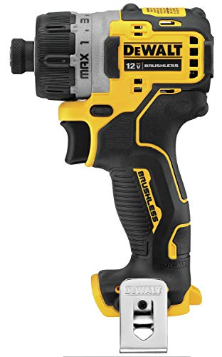 DEWALT XTREME 12V MAX Cordless Screwdriver, 1/4-Inch, Tool Only (DCF601B)