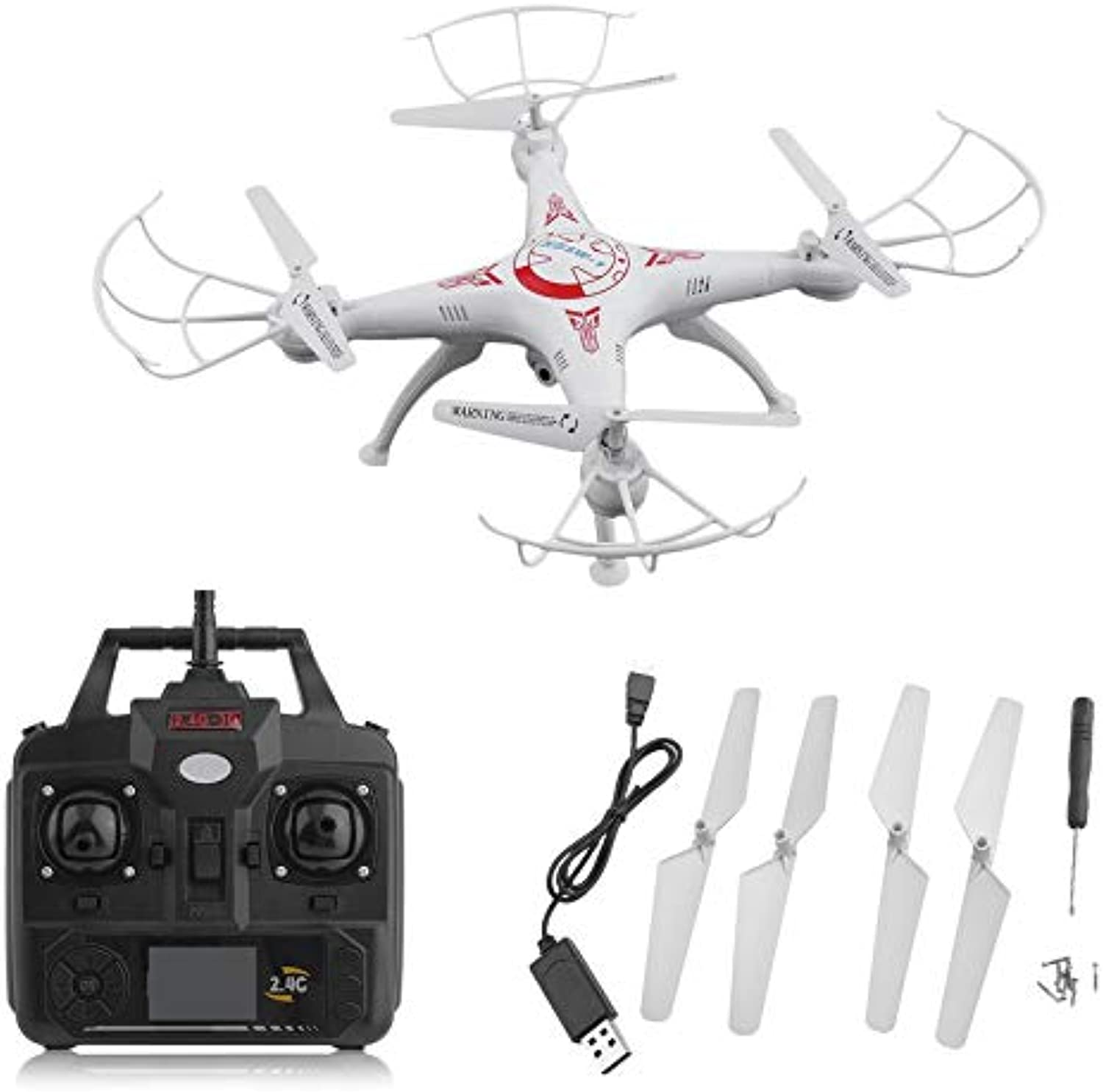 X5SW-1 6-Axles Gyro RC Quadcopter 2.4G 4 CH Drone with 0.3MP WiFi FPV Camera