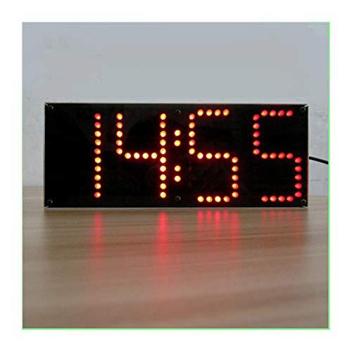 is Red LED Display Uhr DIY Modul Kit 1-Zoll ECL-132 DIY Uhr Kit Fernbedienung Uhr Anzug LED Zeit Bildschirm Display Kit