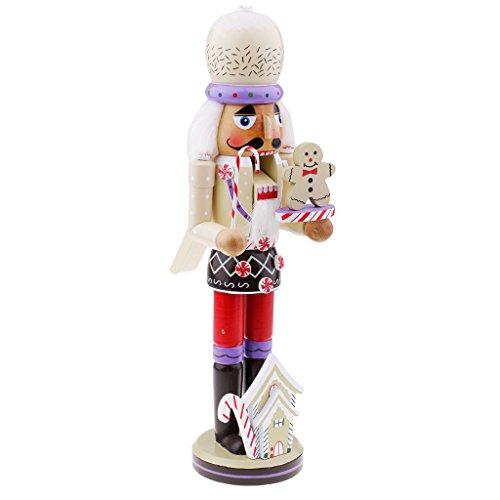 1 Stück Walnüsse Marionette Dekor Hölzerne Nussknacker-Figuren Nussknacker Spielzeug Weihnachtsdekoration