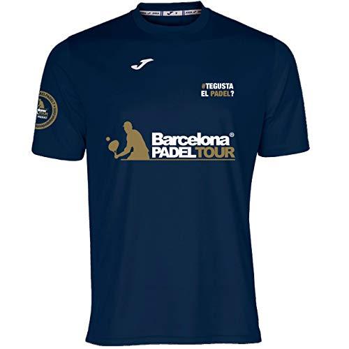 Barcelona Padel Tour | Camiseta Técnica de Manga Corta Te Gusta el pádel | Hombre | Estampación Especial de Pádel | Tacto Suave y Secado Rápido | Ropa Deportiva XL