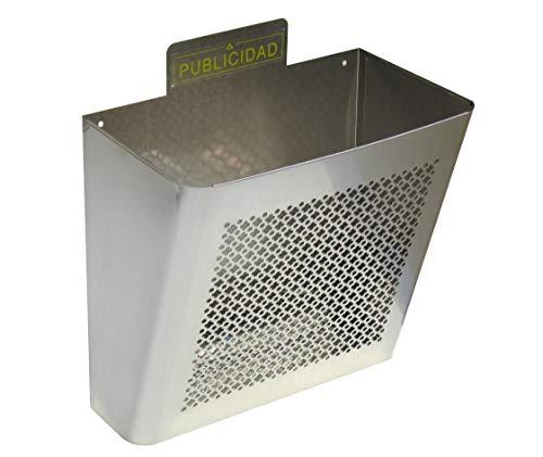 Arregui M105550 - Cesta para publicidad inox e-2337