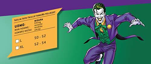Ciao-Joker Costume Adulto Originale DC Comics (Taglia, Colore Viola, 11684.XL