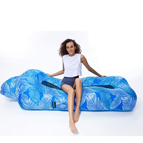 BEAUTRIP Air Couch | Inflatable Lounger Air Sofa Hammock | Ideal Air Lounge Chair for Backyard Lakeside Beach Traveling Picnics & Music Festivals | Perfect Camping Hiking Gear | Pool Floating