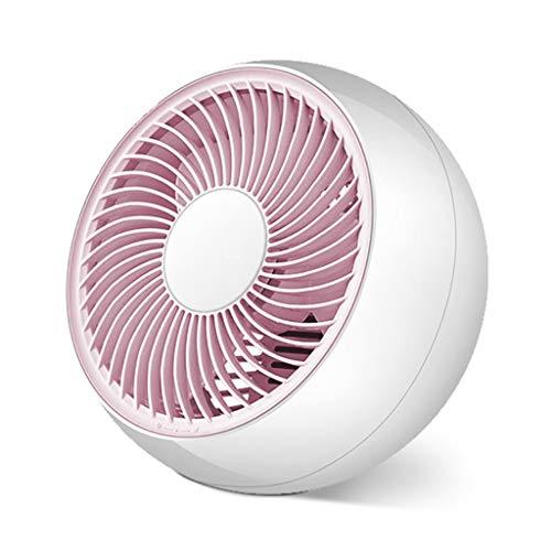 Portable Tabel ventilator met 2 snelheden, Quiet Cooling Fan, gemakkelijk schoon te maken, huishoudelijke elektrische ventilator for Desktop Lijst van het bureau, huis, reis, Bed, RV, Camping