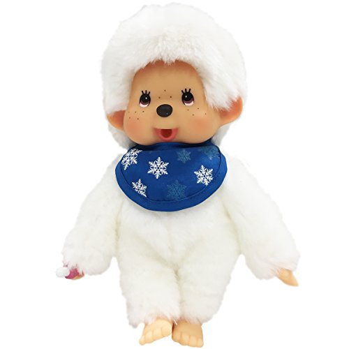 Bandai – Monchhichi – Plüsch – Snow weiß 20 cm – 24352