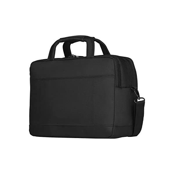 """41YV9UiEytL. SS600  - WENGER 606465 BC Star 14""""/16"""" Expandable Laptop Brief, SmartGuard Laptop Protection with a QuickAcess Tablet tocket in Black {18 litres}"""