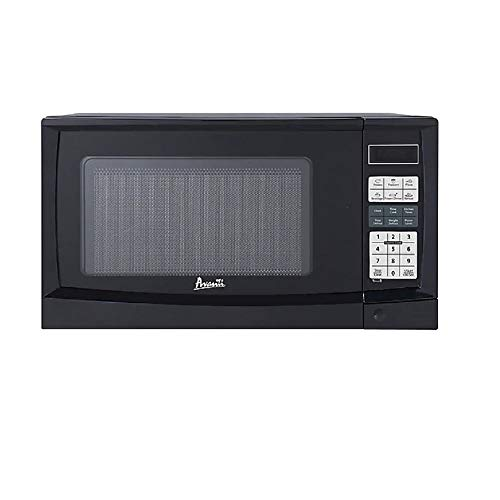 MISC 0.9 Cu. Ft. Touch Microwave Oven - Black Variable Temperature Control