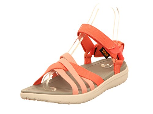 Teva Sanborn Sandal W's, Scarpe da Atletica Leggera Donna, Rosa (Rose Coral), 40 EU