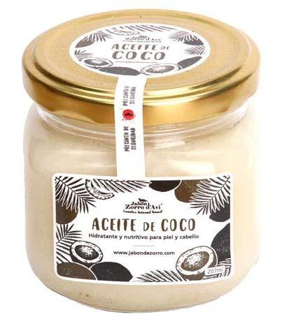 Jabón Zorro D'Avi | Aceite de Coco Puro Natural y Ecológico |...