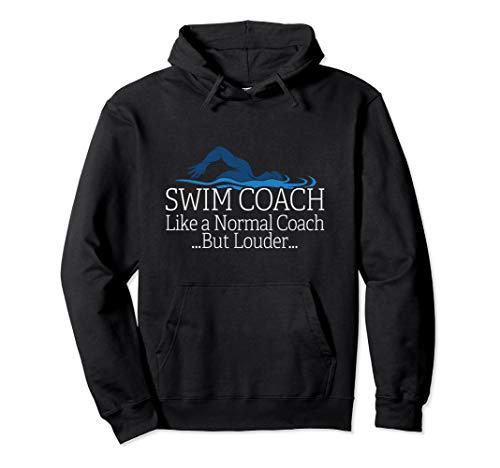 Swim Coach Swimming Teacher Gift Shirt Pullover Hoodie