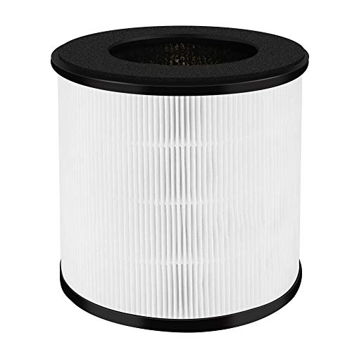 Acekool Air Purifier Replacement Filter, Air Purifier Filter, 3-in-1 Nylon Pre-Filter, True HEPA Filter, High-Efficiency Activated Carbon Filters Compatible B-D02F